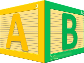 Spanish Alphabet Unit - Part 1 of 4 - Memorize the names o