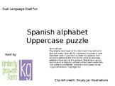 Spanish Alphabet Uppercase Puzzle