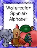 Spanish Alphabet (Watercolor)