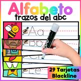 Spanish Alphabet Write and Wipe - El Alfabeto