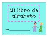 Spanish Alphabet Writing Book