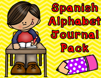 Spanish Alphabet Writing Paper:  Journals for Writing and ABC Center