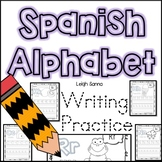 Spanish Alphabet Handwriting Practice A-Z