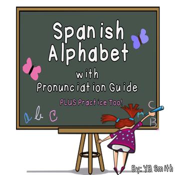 Spanish Alphabet and Pronunciation Guide Powerpoint BUNDLE