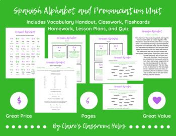 Spanish Alphabet and Pronunciation Unit
