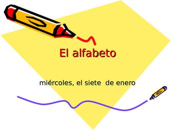 Spanish Alphabet and Vowels
