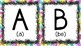 Spanish Alphabet (colorful)