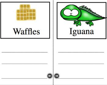 Spanish Alphabet mini books
