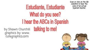 Spanish Alphabet or Alfabeto QR code activity