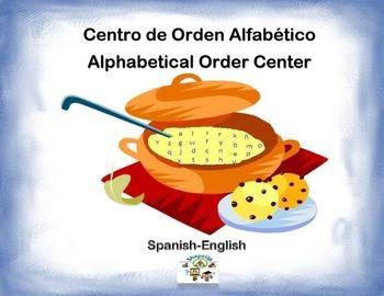 Spanish Alphabetical Order / Orden Alfabetico in a Station