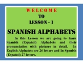 Spanish Alphabets