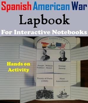 Spanish American War Activity/ Foldable (Yellow Journalism, Rough Riders etc.)
