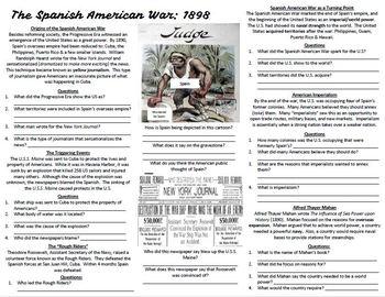 Spanish American War: Imperialism