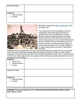Spanish American War APUSH Lesson