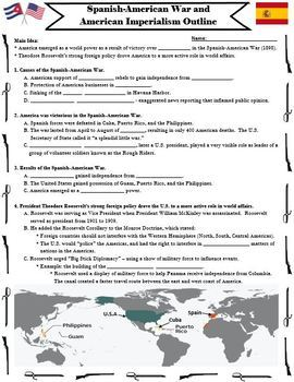 spanish american war american imperialism powerpoint and guided rh teacherspayteachers com chapter 10 guided reading the spanish american war answers guided reading activity lesson 2 the spanish american war