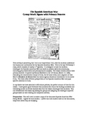 Spanish-American War, Cuba - Primary Source Documents Jigsaw