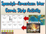 Spanish-American War - Highly Visual PPT and Comic Strip Activity