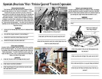 Spanish American War: Policies Geared toward Expansion