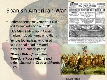 Spanish American War Power point