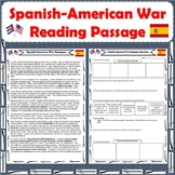 Spanish-American War Reading Passage with Response Questions
