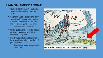 U.S. Imperialism: Spanish-American War Readings & PPT