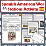 Spanish-American War Stations Activity (PDF and Digital Formats)