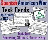Spanish American War Task Cards Activity (Yellow Journalism, Rough Riders etc.)