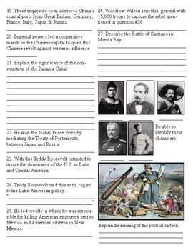Spanish American War Test
