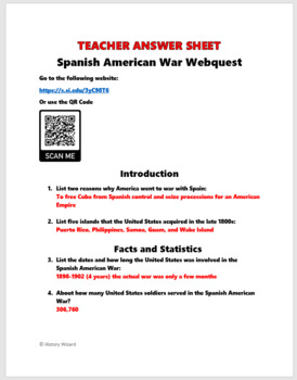 a comparison of the spanish american war and the great war A lesson plan on similarities and differences between the american revolutionary war and the american civil war  how to compare and contrast the american.