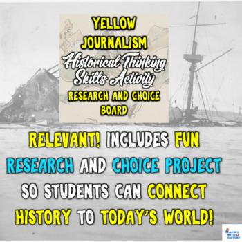 Spanish American War Yellow Journalism Mega-Pack Bundle Student-Led Instruction