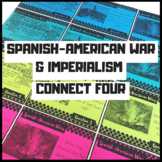 Spanish-American War and Imperialism Connect Four Review Game