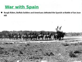 Spanish- American War and Panama Canal BUNDLE 5th SS