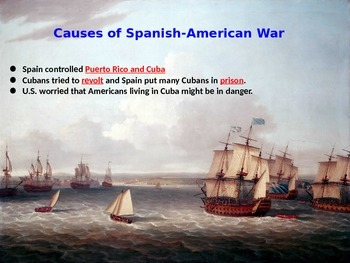 Spanish- American War and Panama Canal BUNDLE 5th SS