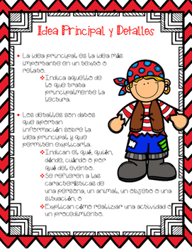 In Spanish / Posters and Graphic Organizers {Comprensión Lectora/ Carteles}