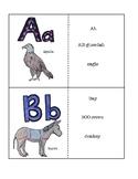Spanish Animal Alphabet Flash Cards