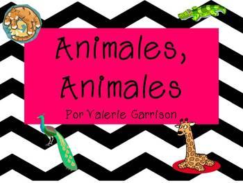 Spanish Animal Bundle Unit/Unidad de los animales