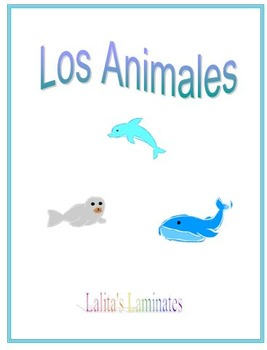 Spanish Animal flashcards