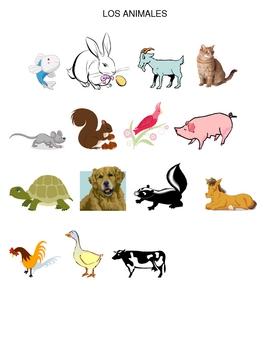 Spanish Animals