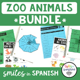 Spanish Animals: Activities, Interactive Notebooks, Animal