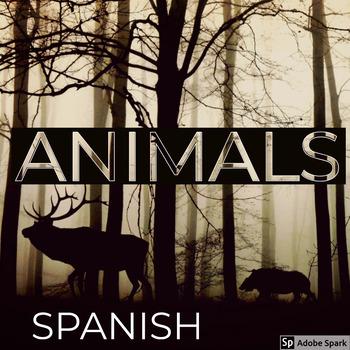 Spanish Animals Activity Sheets