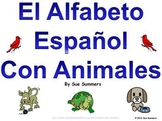 Spanish Alphabet with Animals PowerPoint and Signs - Alfabeto