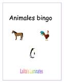 Spanish Animals Bingo