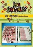 Spanish Animals Vocabulary MagnetMat Fun