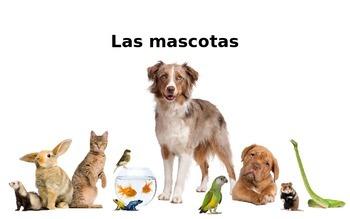 Los animales Spanish Vocabulary Presentation