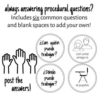 Spanish Answers Board
