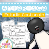 Continent Facts Unit Antarctica Booklet Spanish Edition