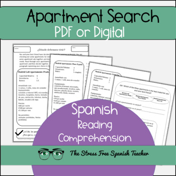 La Casa Worksheets | Teachers Pay Teachers
