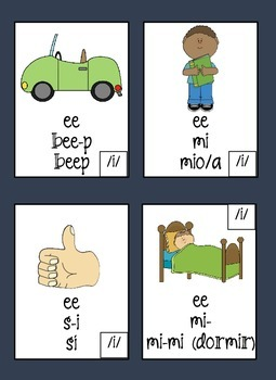 Spanish Apraxia/Oral-Motor Sequencing Cards