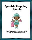 Spanish Around Town Bundle: En la Ciudad (De Compras) 5 Resources!