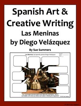 Spanish Art Creative Writing Activity - Las Meninas by Die